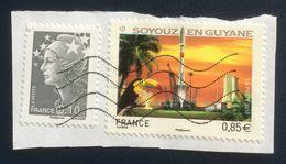 France, 2 Stamps, Used - Frankrijk
