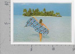 CARTOLINA NV DE AGOSTINI - ISOLE MALDIVE - Ranalhi - Vedute Dal Mondo - 10 X 15 - Maldive