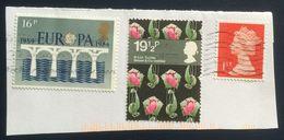 Great Britain, 3 Stamps, Used - 1952-.... (Elizabeth II)