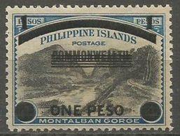 Philippines (Japanese Occupation) - 1943 Montalaban Gorge  1p MNH **  Sc N7 - Philippinen