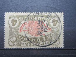 """VEND TIMBRE DE LA REUNION N° 58 , OBLITERATION """" SAINT - BENOIT """" !!! - Reunion Island (1852-1975)"""