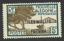 Wallis And Futuna, 5 C. 1930, Sc # 47, MH. - Wallis And Futuna