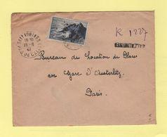 Sallaumines - Pas De Calais - Recommande Provisoire - 1947 - Postmark Collection (Covers)