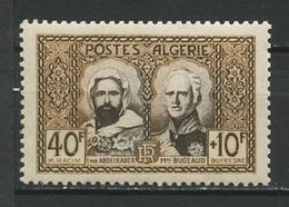 ALGERIE N° 285 ** Neuf MNH Superbe Cote 8,40 € Abd El Kader Bugeaud Monument Cacherou - Nuevos