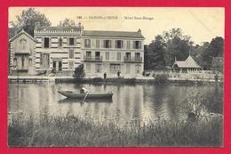 CPA Samois Sur Seine - Hôtel Beau Rivage - Samois