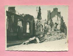 PHOTOGRAPHIE - PHOTO - BOULOGNE SUR MER - BOMBARDEMENT DU 15 JUIN 1944 - RUE AMIRAL BRUIX - - Lieux