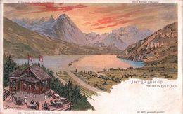 Interlaken Heimwehfluh, Litho Steimann (31.7.1906) - BE Berne