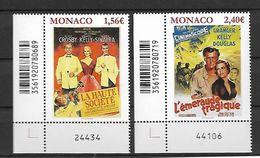 Monaco 2018 - Yv N° 3118 & 3119 ** - Les Films De Grace Kelly  (Haute Société Et L'émeraude Tragique) - Monaco