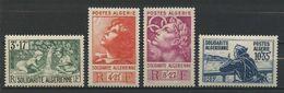 ALGERIE 1946 N° 249/252 ** Neufs  MNH Superbes Cote 16,80 € Au Profit Des Oeuvres De Solidarité - Nuevos