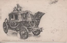 VERSAILLES PALAIS DE VERSAILLES VOITURE DU SACRE DE CHARLES X - Versailles (Château)
