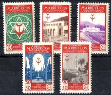 Marruecos Españiol Nº 270/74 En Nuevo - Maroc Espagnol
