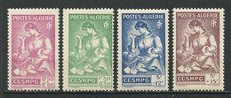 ALGERIE 1944 N° 205/208 ** Neufs  MNH Superbes Cote 4,80 € Général Catroux Familles De Prisonniers Guerre - Nuevos