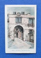Cartolina Asolo - Via Canova - Casa Eleonora Duse - 1925 Ca. - Treviso