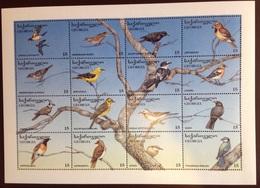 Georgia 1996 Birds Sheetlet MNH - Vögel