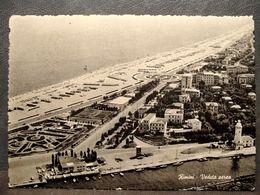(FG.R50) RIMINI - VEDUTA AEREA (francobollo Strappato) - Rimini