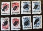 RUSSIE -  INGOUSHIE (ex URSS) 8 VALEURS INSECTES, Insectes, Insectos ** (MNH) - Non Classés
