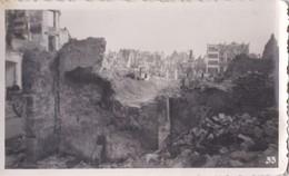 Photo Ancienne  Dunkerque  Guerre 1939 1945  La Place Jean Bart  PRIX FIXE - Guerre, Militaire