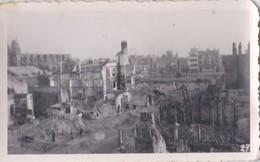 Photo Ancienne  Dunkerque  Guerre 1939 1945  La Rue Alexandre 3  PRIX FIXE - War, Military
