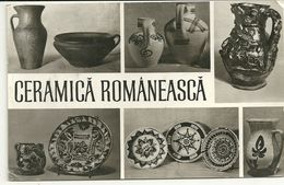 ROMANIA--  POSTA  ROMANA--ANNI  60     CERAMICA  ROMANEASCA - Romania