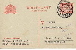 Bk G193 Van 'sGravenhage Naar Berlin - Postal Stationery