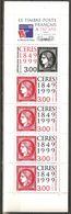 France 1999 Carnet BC 3213 Cérés ,  Le Timbre-Poste Français à 150 Ans Paris 2 Au 11 Juillet Neuf ** Complet Non Plié - Markenheftchen