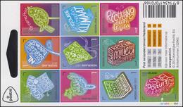 2893-2902 Grüne Initiativen 2011, Folienblatt Mit 10 Werten ** - Zonder Classificatie