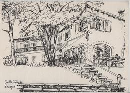 Ristorante Grotto Zelindo Arcegno (Disegno Di Verena Knobel) - TI Tessin