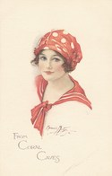 From Coral Caves, Marjorie Modyn Or Mostyn, Illustrated Fashion Postcard (pk43067) - Illustrateurs & Photographes
