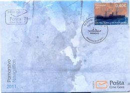 CG 2011-279 NAVIGATION, MONTENEGRO CRNA GORA, FDC - Montenegro