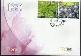 CG 2012-293 FLORA VINO, MONTENEGRO CRNA GORA, FDC - Montenegro