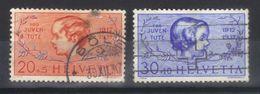 SUISSE  N°s 305,306 (1937)     PRO JUVENTUTE - Svizzera