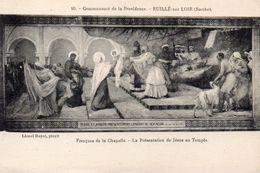CPA RUILLE SUR LOIR - COMMUNAUTE DE LA PROVIDENCE - FRESQUES DE LA CHAPELLE - LA PRESENTATION DE JESUS AU TEMPLE - Sin Clasificación