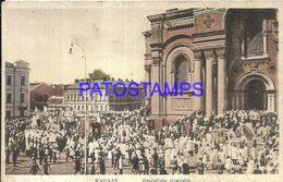 86495 LITHUANIA LITUANIA KAUNAS COSTUMES VIEW PROCESSION  POSTAL POSTCARD - Litauen