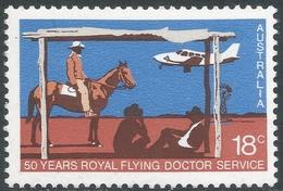 Australia. 1978 50th Anniv Of Royal Flying Doctor Service. 18c MNH. SG 663 - 1966-79 Elizabeth II