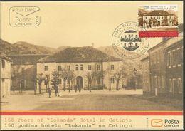 "CG 2014-15 150A°HOTEL""LOKANDA"", MONTENEGRO CRNA GORA, FDC - Montenegro"