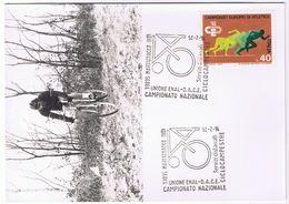 Cartolina Commemorativa Campionato Nazionale Ciclocampestre - Martignacco (Udine) 1975 - Udine