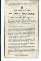 B.P. LAARNE MARTENS MAURICE 1899 - 1942 LEMBERGE - Religion &  Esoterik
