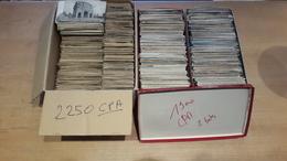 DEPART 1 EURO - ENORME LOT De 2250 CPA + 1900 CPSM & CPM TYPE DROUILLE =  4150 CARTES - Cartes Postales