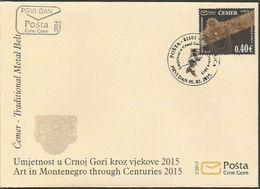CG 2015-363 ČEMER, CRNA GORA MONTENEGRO, FDC - Montenegro