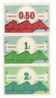 3 Billets De Jeu  Hippo Flash, Course Hippique, Chevaux, Tiercé, Cheval - Specimen