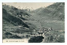 CPA - Carte Postale -SUISSE - URI- Andermatt - Col De La Furka (col De La Fourche ) (CPV 261) - UR Uri