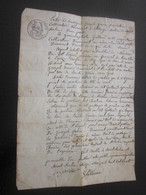 Saint Sorlin 1830 Manuscrit Cultivateur à Collonge Achat 1 Journal De Terre à Lépiez- Saint-Rambert +droit Passage-Lire. - Manuscripts