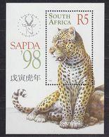 South Africa 1998 Sapda M/s ** Mnh (37485E) Promo - Blokken & Velletjes