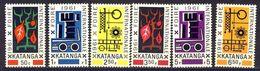 Katanga     Nr 69 - 74  Neufs Avec Charnière - Postfris Met Plakker - MH  (X) - Katanga