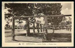 14 Calvados - Honfleur , Jardin Public , Contre Jour - Ref C 702 - Honfleur