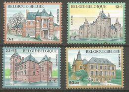 Belgium - 1985 Castles MNH **    Sc B1042-5 - Belgium