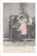 19271- Couple Enfants Tristes En 1905 L.W.jr. & Co H 4129/6 - Groupes D'enfants & Familles