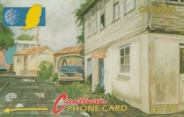 Grenada - Street Scene Gouvyave - 8CGRC - Grenada