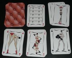 "Rare Jeu De 54 Cartes ""Chantal THOMASS, Paris"" Lingerie Mode, Sexy Coquin Joker - Antikspielzeug"