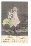 19276 - Fille Avec Boisson  Circulée En 1904 / 646 - Scènes & Paysages